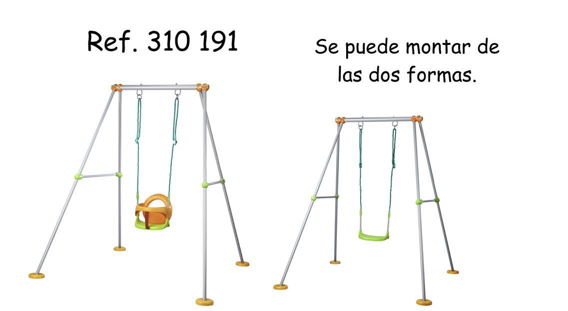 SMOBY 310191 Gyermek Hintaállvány szett 1,80 m magas 2 éves kortol